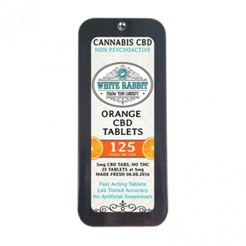 CBD Orange Tablets, 125mg Logo